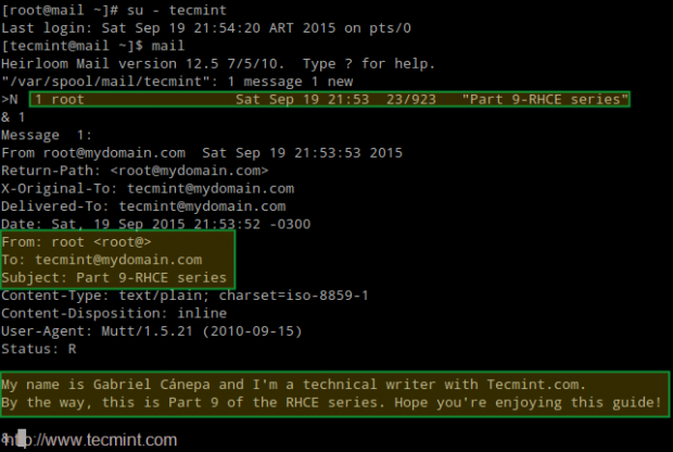 Check Postfix Mail Server Delivery