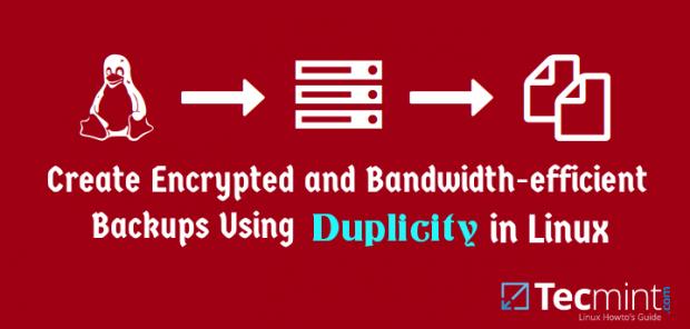Create Encrypted Linux File System Backups