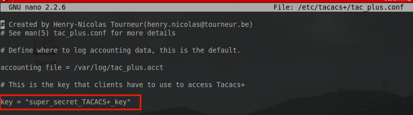 Installation and Configuration of TACACS+ with Cisco Router