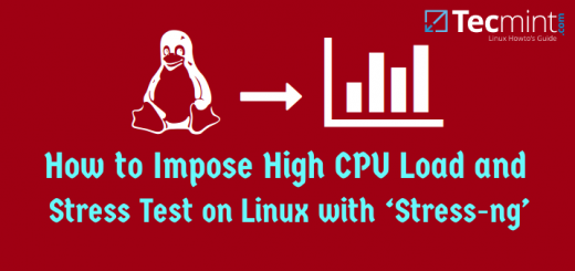 Linux CPU Load Stress Test Tool