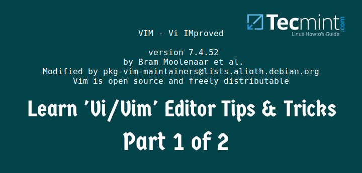 Linux Vi and Vim Tricks and Tips