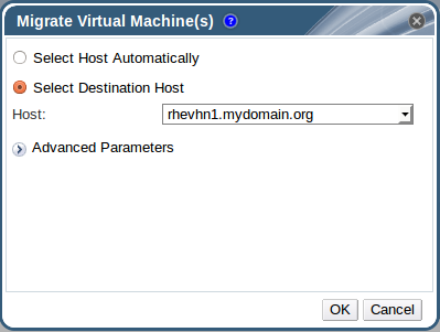 Migrate Virtual Machines