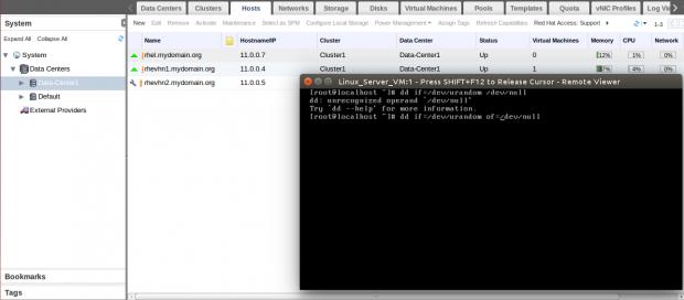 Monitor VM Load