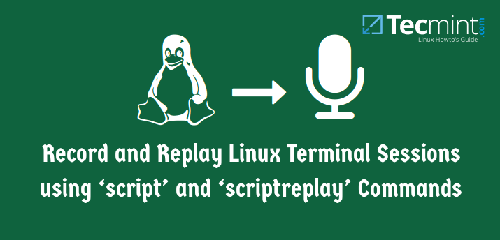 Record Linux Terminal Commands
