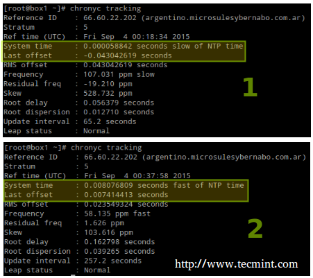 Synchronize Server Time with Chrony