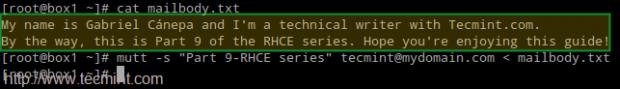 Test Postfix Mail Server