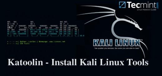 Katoolin - Install Kali Linux Tools