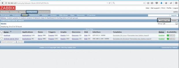 Add Linux Host to Zabbix Monitoring
