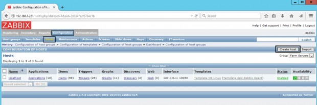 Add Windows Host to Zabbix