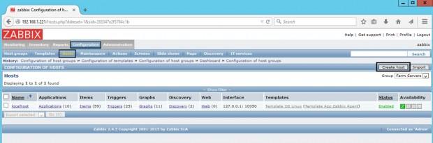 Add Windows Host to Zabbix