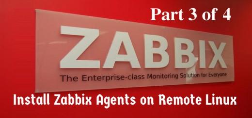 Add Zabbix Agent on Linux