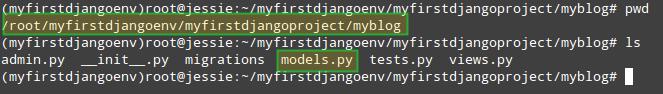 Configure Django Models