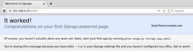 Django HTTP Server