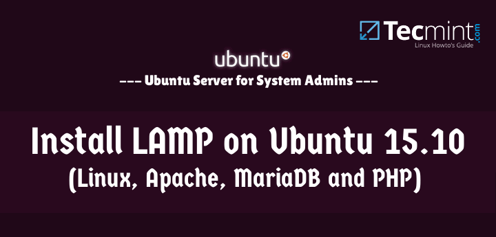Install LAMP on Ubuntu 15.10
