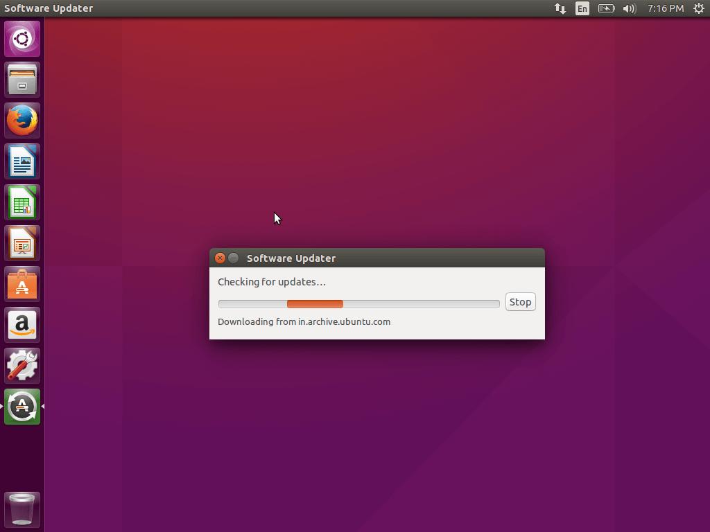 Checking Software Updates