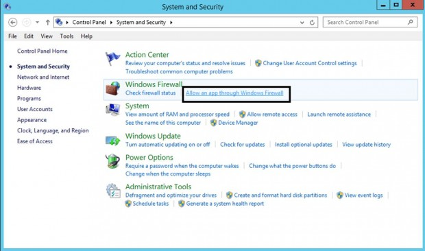 Open Zabbix Port on Windows
