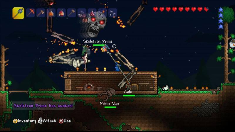 how to know what layer you are in in terraria