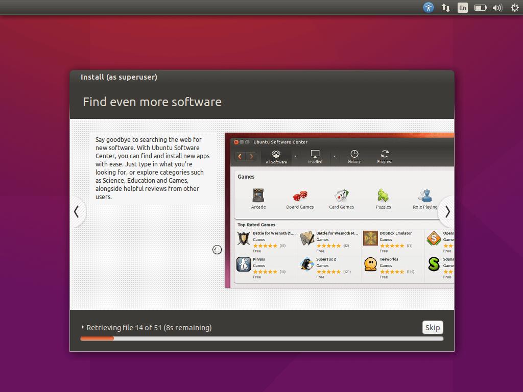 Ubuntu 15.10 Installation Process