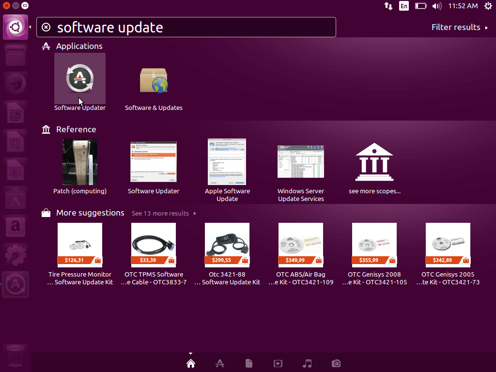 Ubuntu Software Update