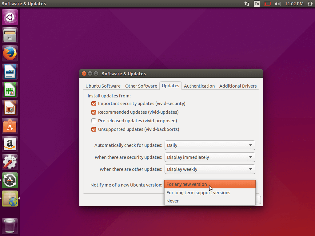 Ubuntu Update Notify