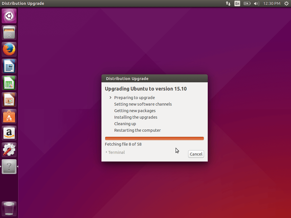 Upgrading Ubuntu