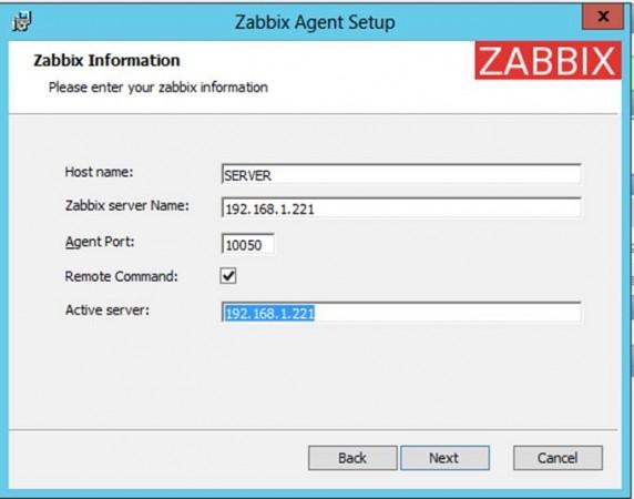 Zabbix Agent Installation on Windows