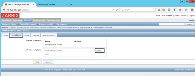Zabbix Template OS Windows