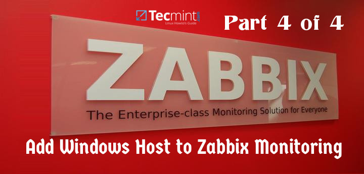 Add Windwos Host to Zabbix Monitoring