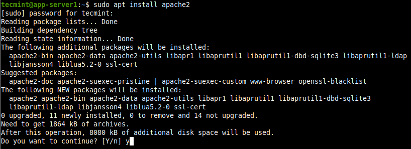 Install Apache on Ubuntu 20.04
