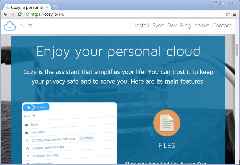 Cozy Cloud Storage