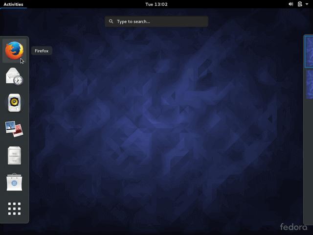 Fedora 23 Desktop