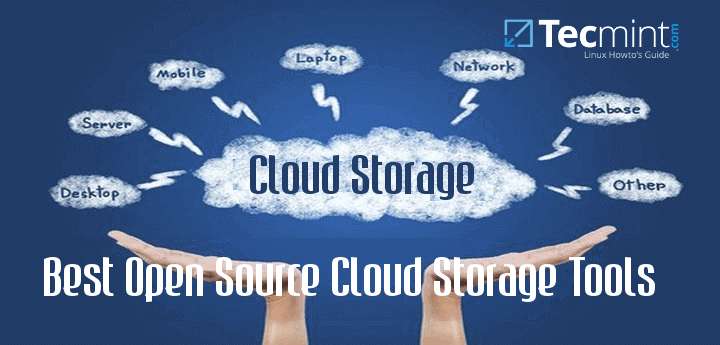 Free Open Source Cloud Storage Softwares for Linux