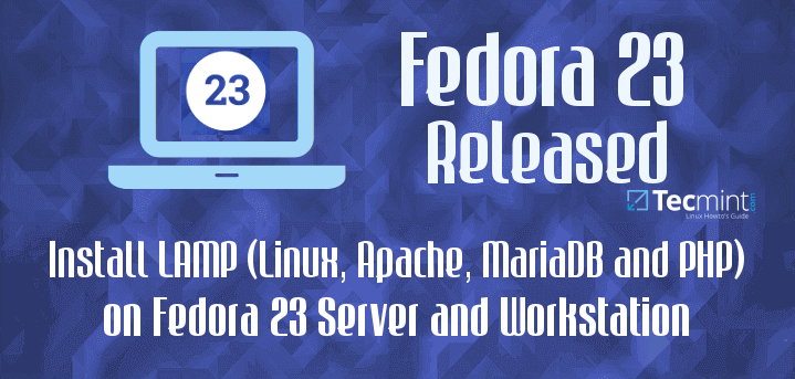 Install LAMP in Fedora 23
