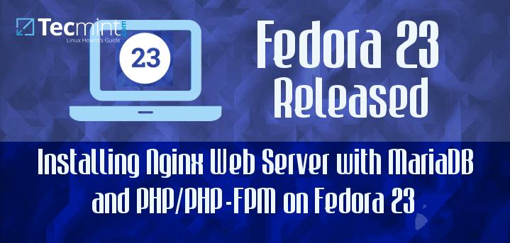 Install LEMP in Fedora 23