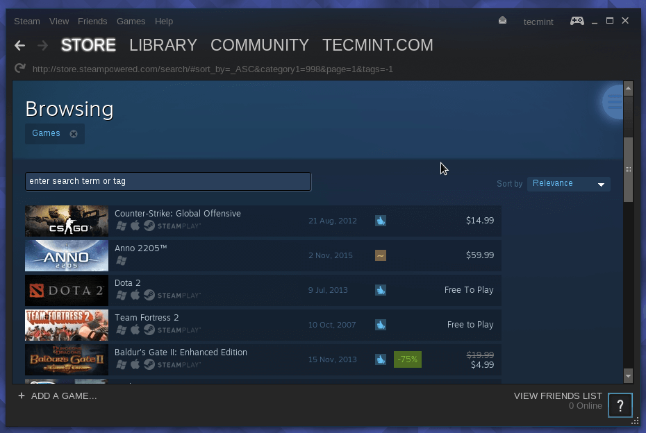 Install Steam in Fedora 23