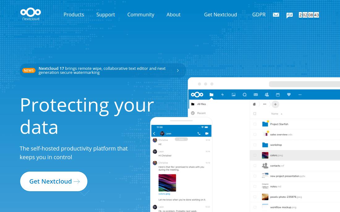 Nền tảng chia sẻ và cộng tác tệp Nextcloud