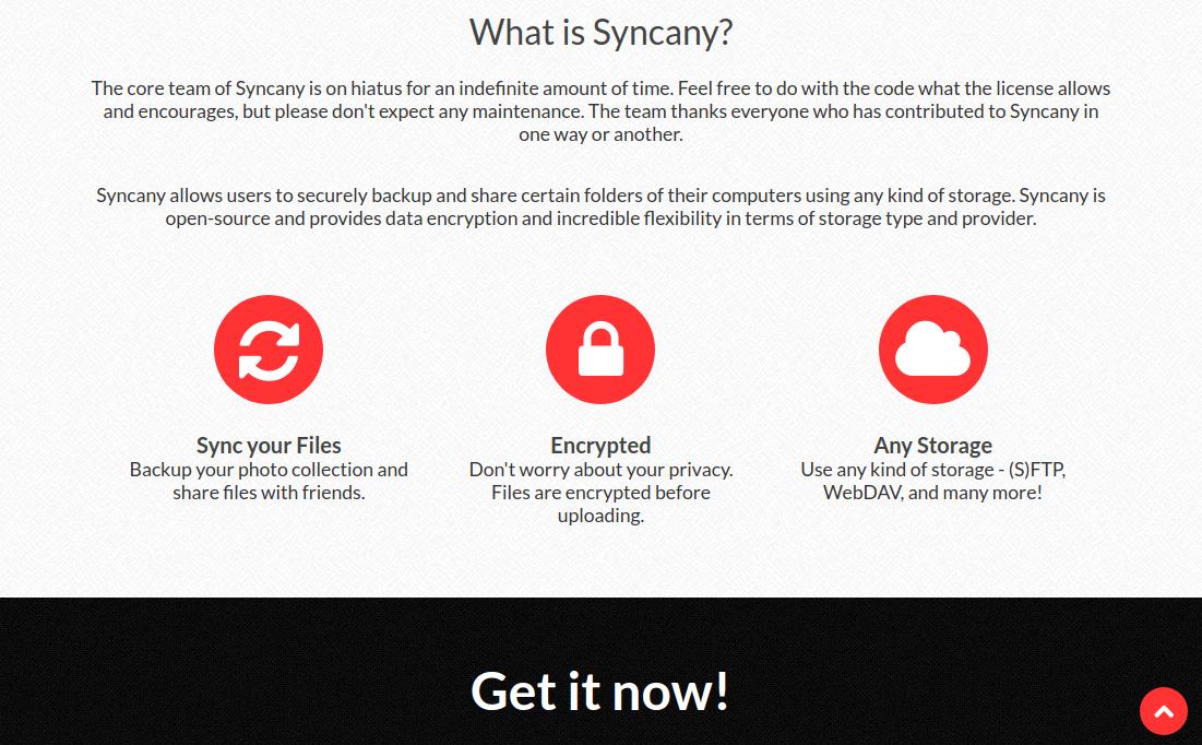 Phần mềm đồng bộ hóa tệp an toàn Syncany