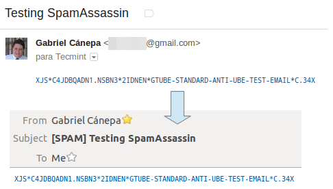 Verify SpamAssassin Detecting Spam Mails