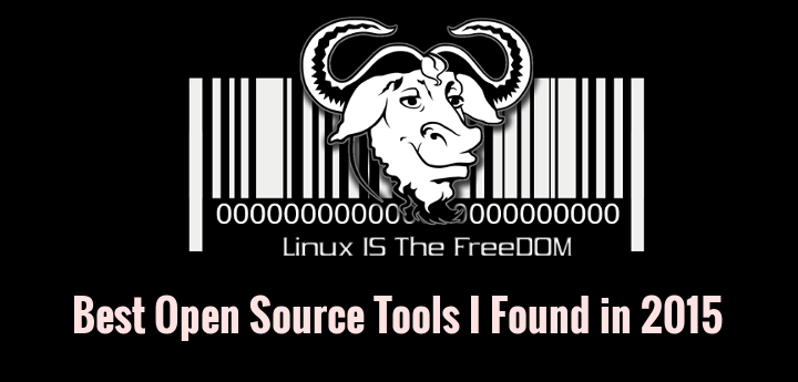 Best Free Open Source Softwares of 2015