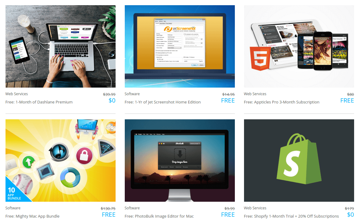 Freebies Software Downloads