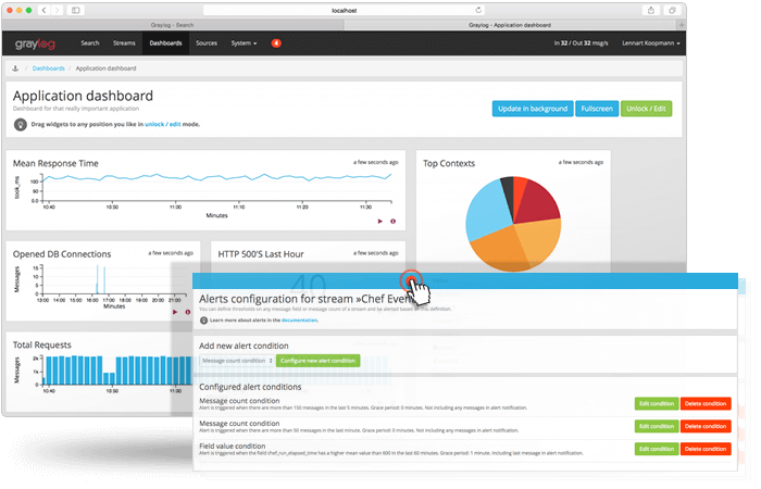 Graylog Linux Log Management Tool
