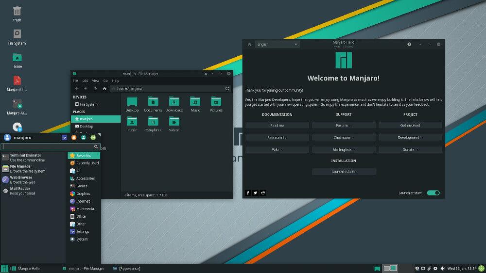 Distro #2: Manjaro Linux