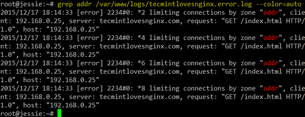 Nginx Log Monitoring