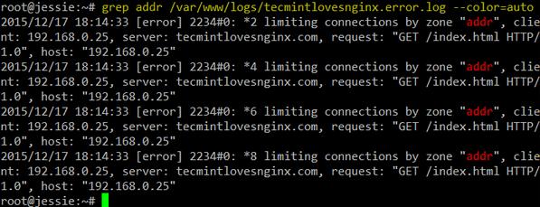 Nginx Log Monitoring