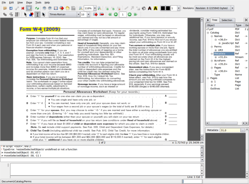 PDFEdit PDF Editor