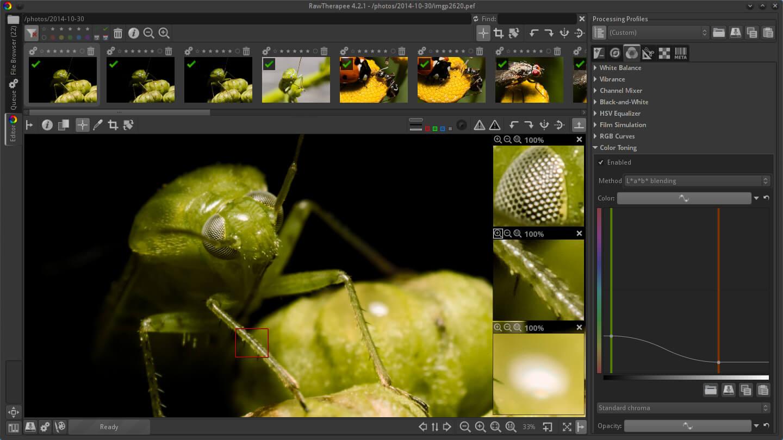 Rawtherapee Image Editor