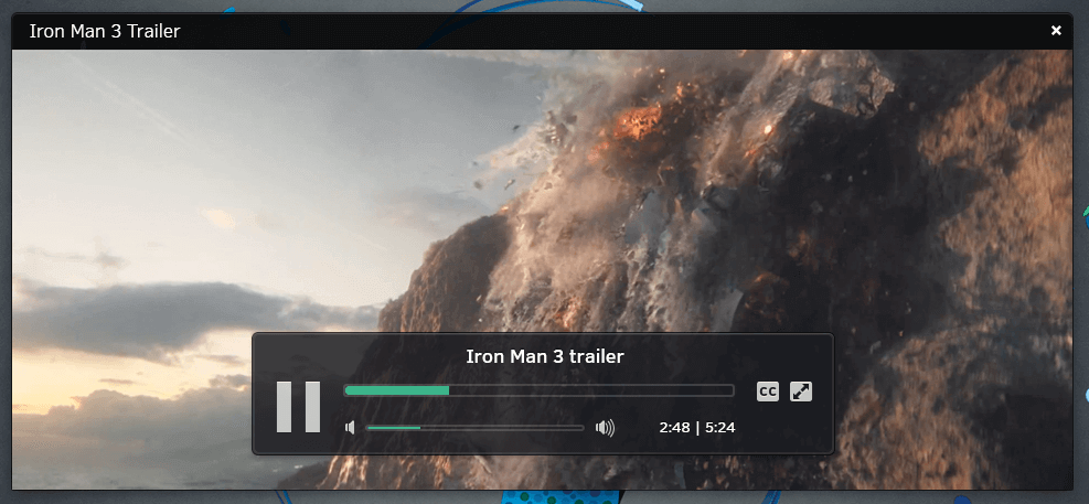 Snappy Media Player for Linux