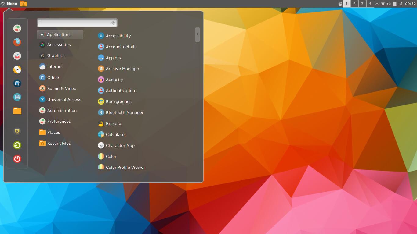 Korora Cinnamon Desktop