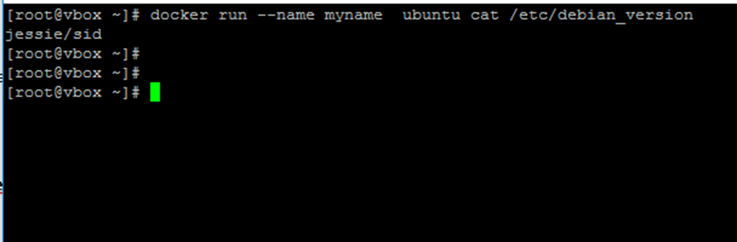 Add Name to Docker Container