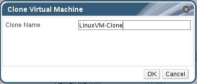 Give VM Clone Name